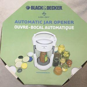 Black & Decker Lids Off Automatic Jar Opener NIB